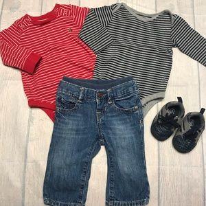 EUC Baby GAP Outfit Set
